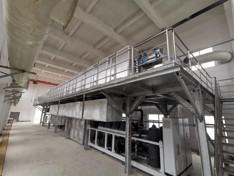 CO2 heat pump belt dryer 2